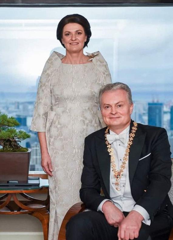 Lietuvos respublikos prezidento kanceliarijos/Roberto Dačkaus nuotr./Diana ir Gitanas Nausėdos