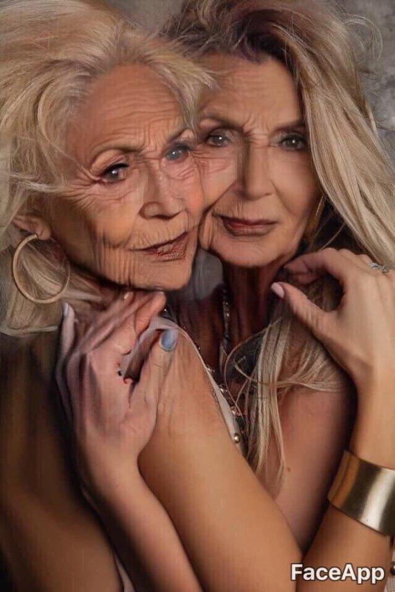 Asmeninio albumo nuotr./Oksana Pikul-Jasaitienė ir Monika Šedžiuvienė
