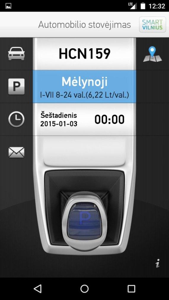 15min.lt skaitytojo nuotr./Naujos automobilių stovėjimo zonų kainos