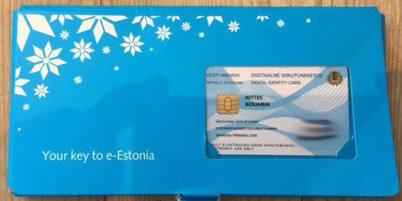 Lawfareblog.com nuotr./Estijos skaitmeninė tapatybės kortelė