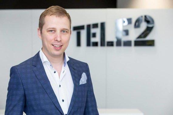 """Asmeninio archyvo nuotr./""""Tele2"""" korporacinės komunikacijos direktorius Baltijos šalyse Andrius Baranauskas"""