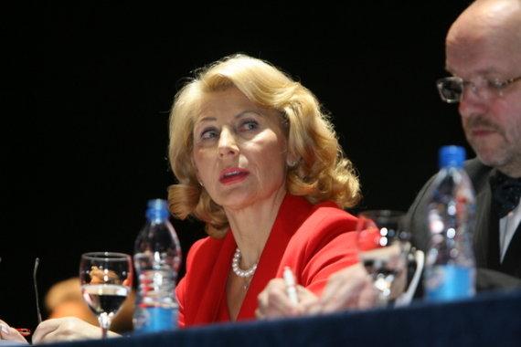Juliaus Kalinsko/15min.lt nuotr./LSDP pirmininko pavaduotoja Milda Petrauskienė