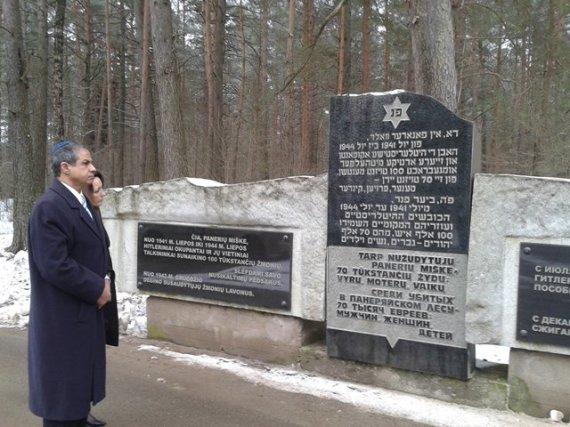 Izraelio ambasados Lietuvoje nuotr./Izraelio ambasadorius Amiras Maimonas