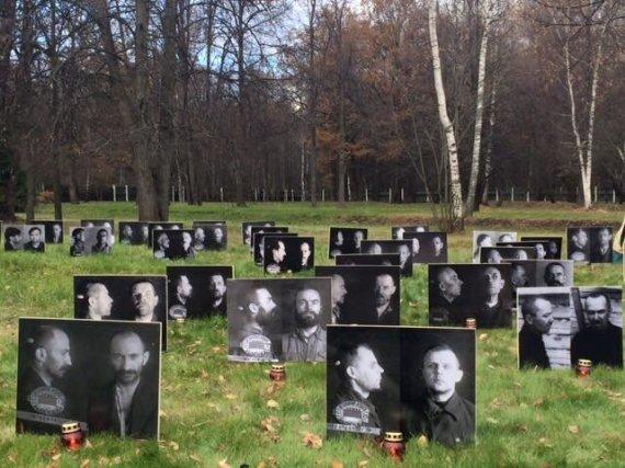 Nuotr. iš V.Ušacko asmeninio archyvo/Butovo poligone prisimintos politinių represijų aukos