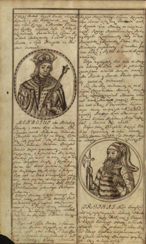 Gražiai iliustruotas silva rerum puslapis