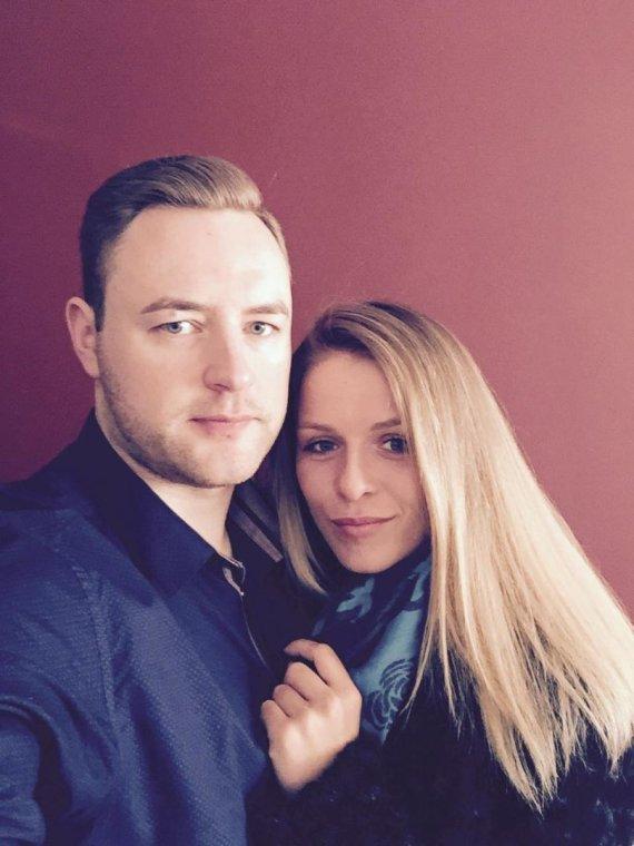 Asmeninio albumo nuotr./Monika Povilaitytė ir Simas Paulikas