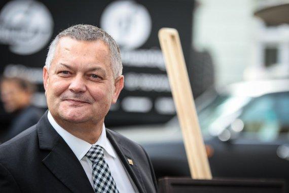 Edgaro Buiko nuotr./LASF prezidentas Romas Austinskas