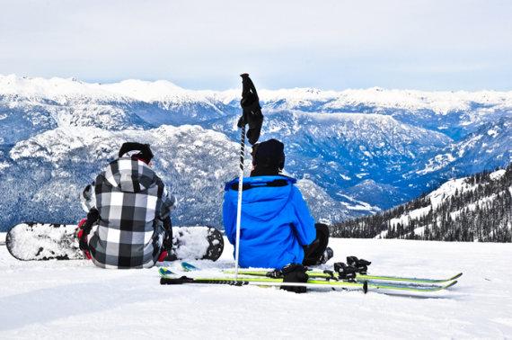 Shutterstock nuotr. / Vistlerio ir Blekombo slidinėjimo kurortai Kanadoje