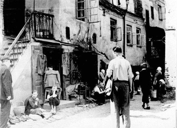 Yadvashem muziejaus nuotr./Vilniaus žydai XX a pradžioje