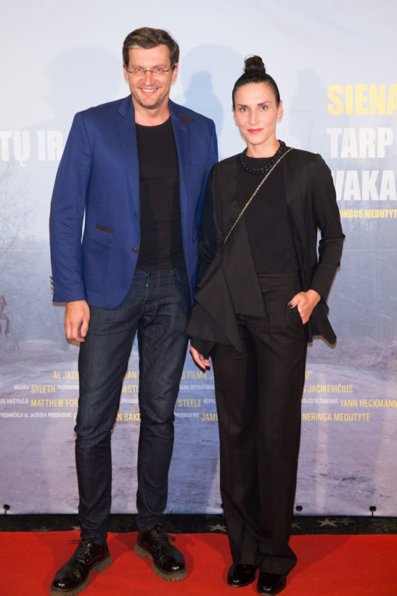 Luko Balandžio / 15min nuotr./Modestas Pitrėnas ir Ieva Prudnikovaitė