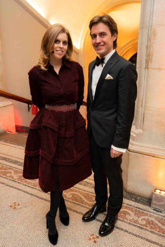 Vida Press nuotr./Princesė Beatrice ir Edoardo Mapelli Mozzi