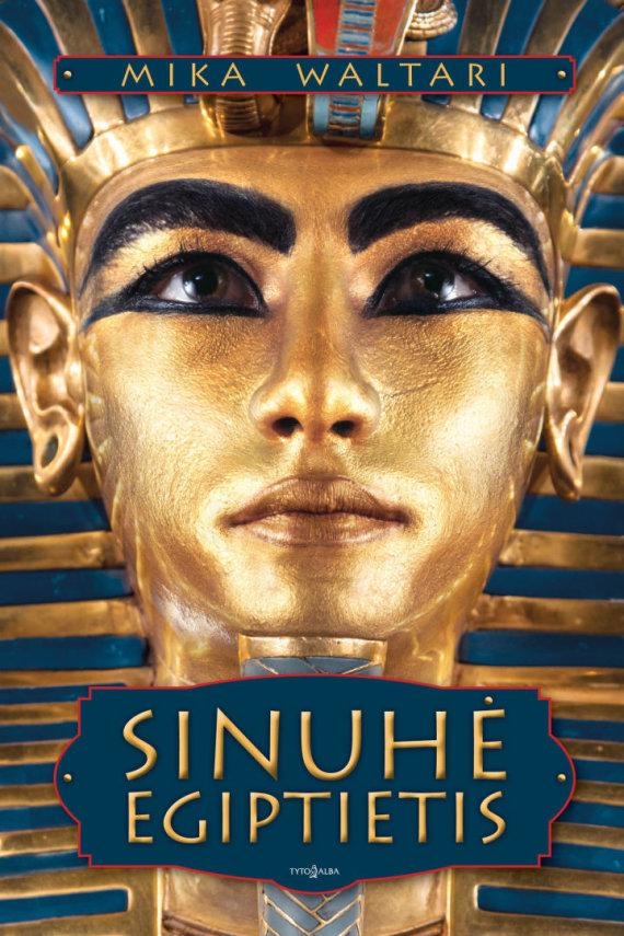 """Knygos viršelis/Knyga """"Sinuhė Egiptietis"""""""