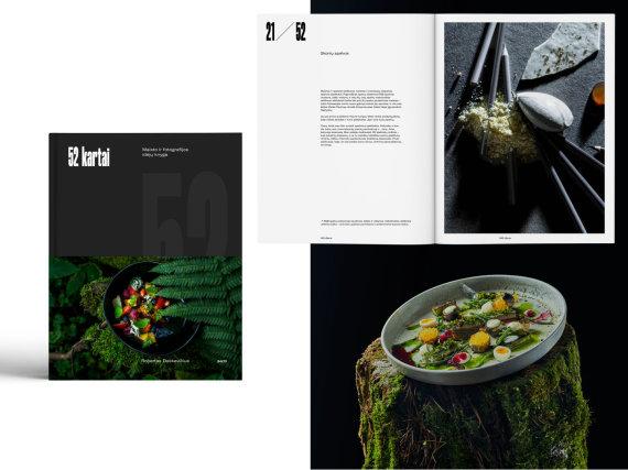 """Maisto ir fotografijos idėjų knyga """"52 kartai"""""""