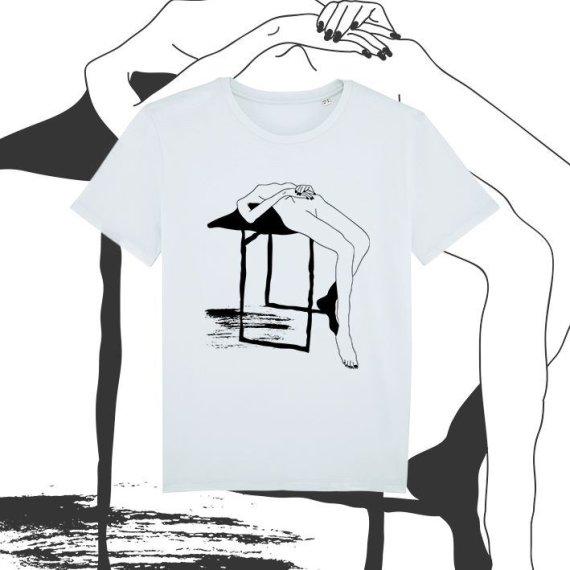 Asmeninio archyvo nuotr./Agnės Čižauskaitės piešinys ant marškinėlių
