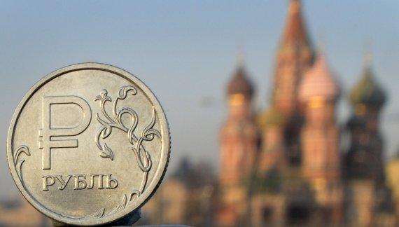 "AFP/""Scanpix"" nuotr./Rusijos rublis"