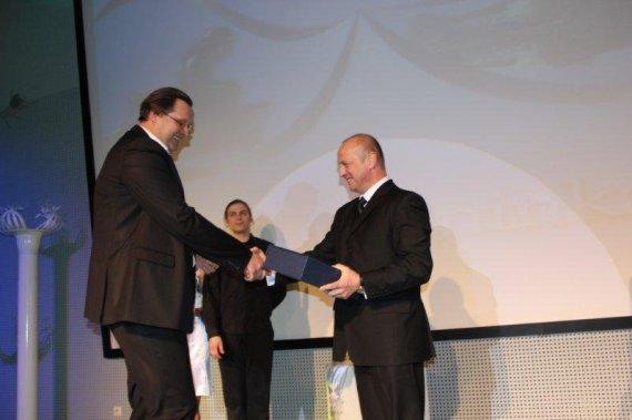 druskininkai.lt nuotr./Edmundas Antanaitis (kairėje) ir Druskininkų meras Ričardas Malinauskas