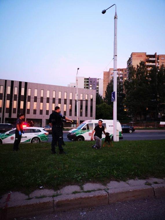 nuotr. 15min skaitytojo Elvio/BMW vairuotoją sulaikė policija