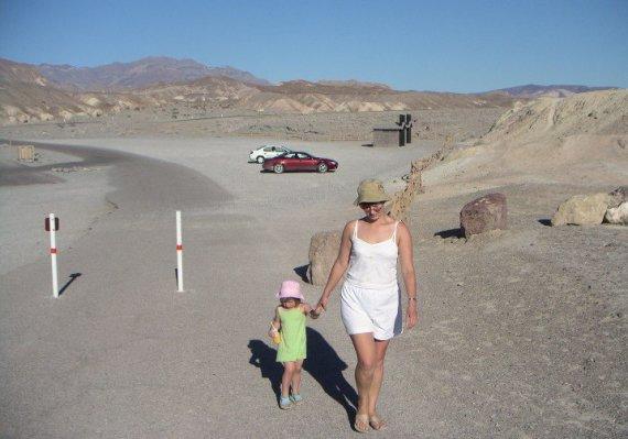 JAV, Mirties slėnyje su šeima lankiusis Ž.Gavelienė patyrė vieną baisiausių nuotykių gyvenime