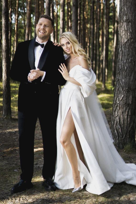 Nakutis photography nuotr./Alvydos Navickaitės ir Gedimino Petrausko vestuvių akimirka