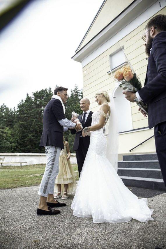 Editos Nyork nuotr./Ievos Jotkėlaitės ir Juozo Tubino vestuvių akimirka