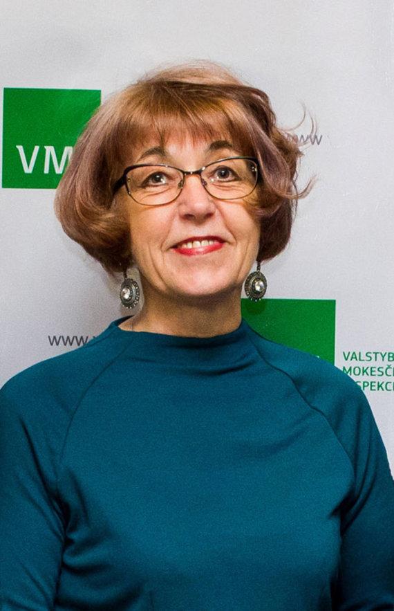 VMI nuotr./VMI Mokestinių prievolių departamento direktorė Stasė Aliukonytė-Šnirienė