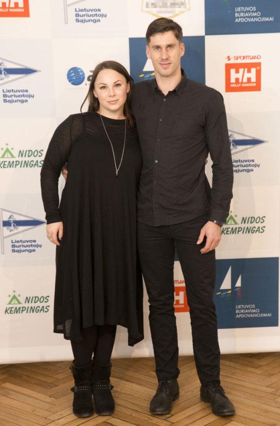 Valdo Kopūsto / 15min nuotr./Juozas Bernotas su žmona Gilija