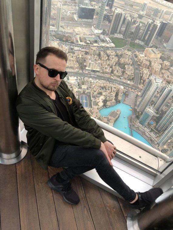 Asmeninio albumo nuotr./Mantas Katleris Dubajuje