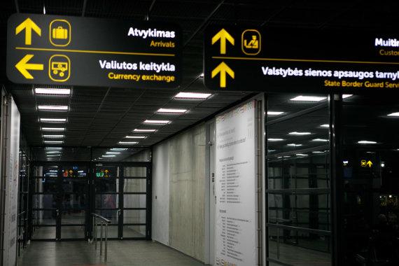 Eriko Ovčarenko / 15min nuotr./Kauno oro uostas