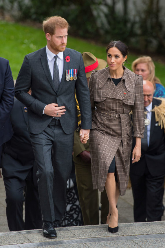 """""""Reuters""""/""""Scanpix"""" nuotr./Princas Harry ir Sasekso hercogienė Meghan Markle"""
