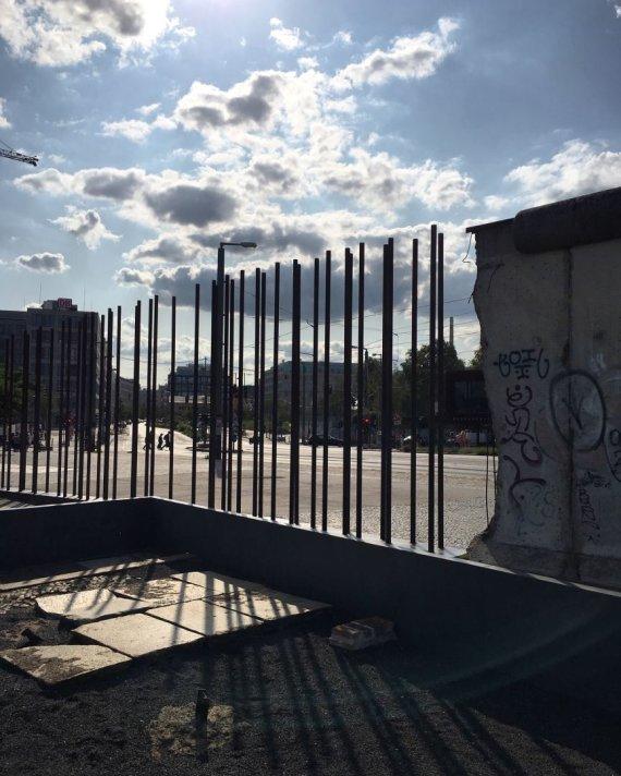 Linos Ever nuotr./Buvusi Berlyno siena