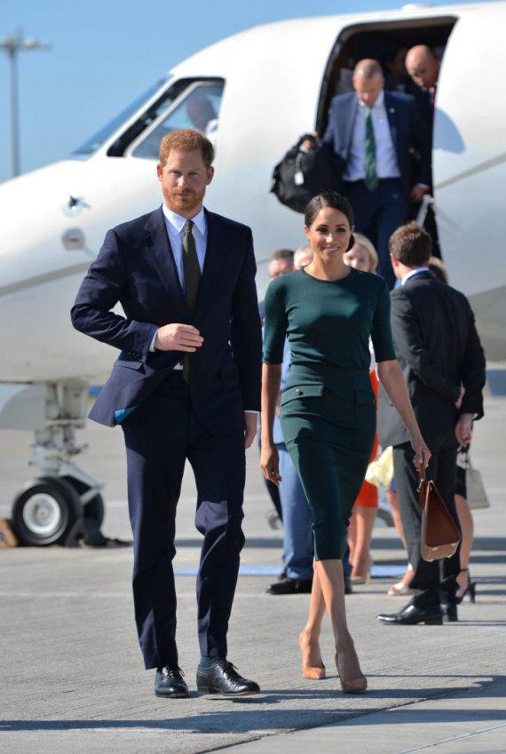 """""""Reuters""""/""""Scanpix"""" nuotr./Princas Harry ir Sasekso hercogienė Meghan"""