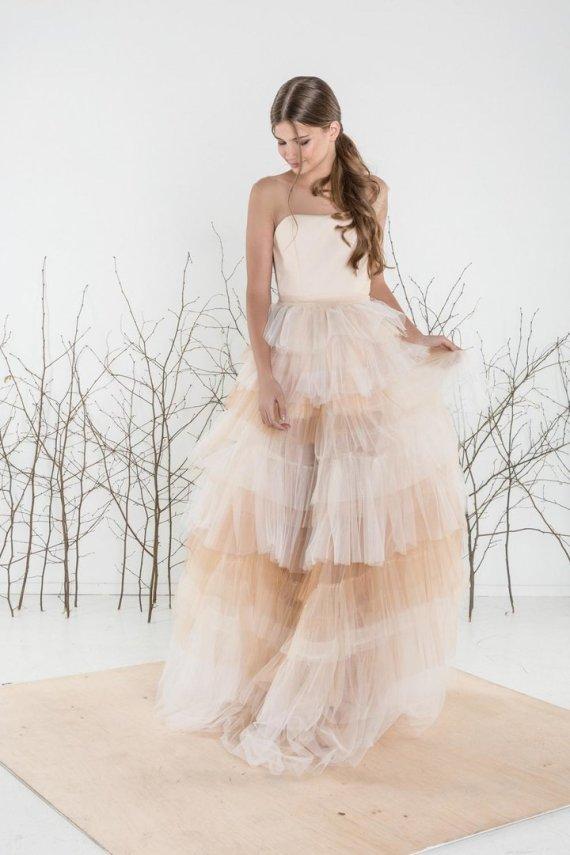 """""""Eva Grin Photography"""" nuotr./Agnės Deveikytės kurta vestuvinė suknelė"""
