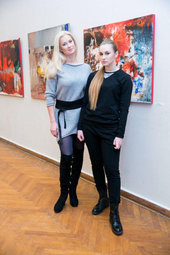 """Juliaus Kalinsko / 15min nuotr./Drabužių prekės ženklo """"Bliu"""" pristatymo akimirka"""