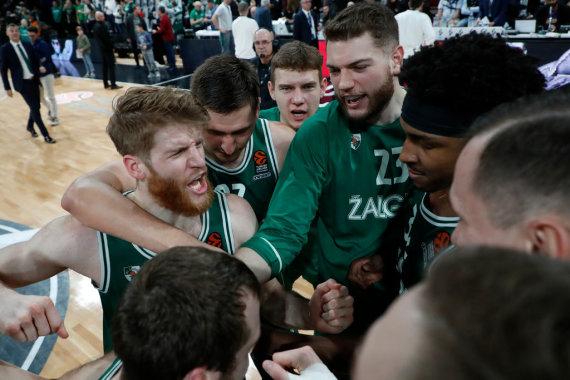 """Getty Images/Euroleague.net nuotr./Kauno """"Žalgiris"""" išplėšė pergalę prieš ASVEL."""