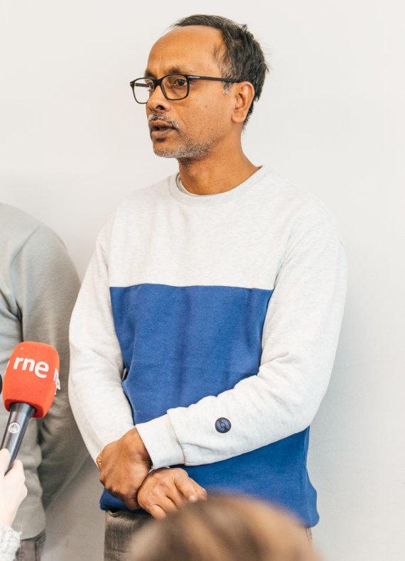 Europos Komisijos nuotr. /Pabėgėlis iš Bangladešo Mohammadas