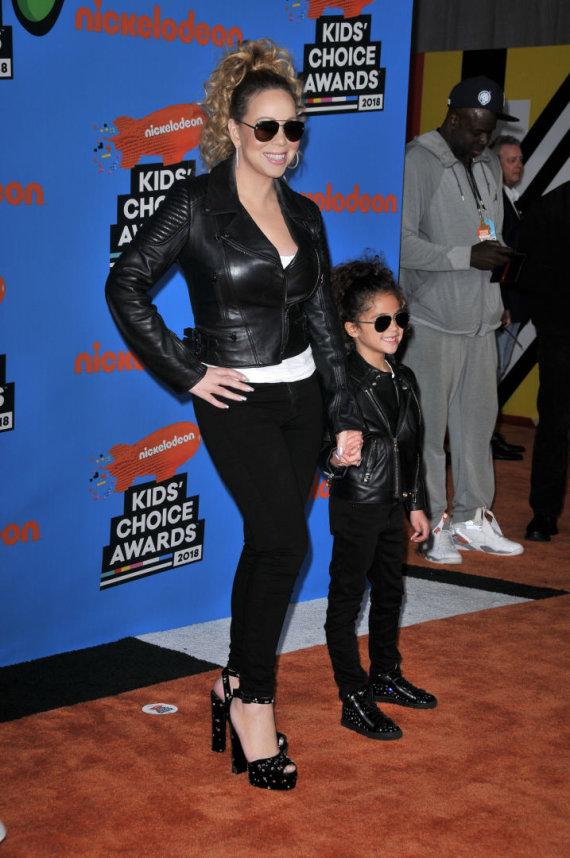 """Scanpix""/""Sipa USA"" nuotr./Mariah Carey su dukra Monroe"