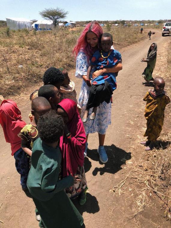 UNICEF nuotr./Karolina Meschino Etiopijoje