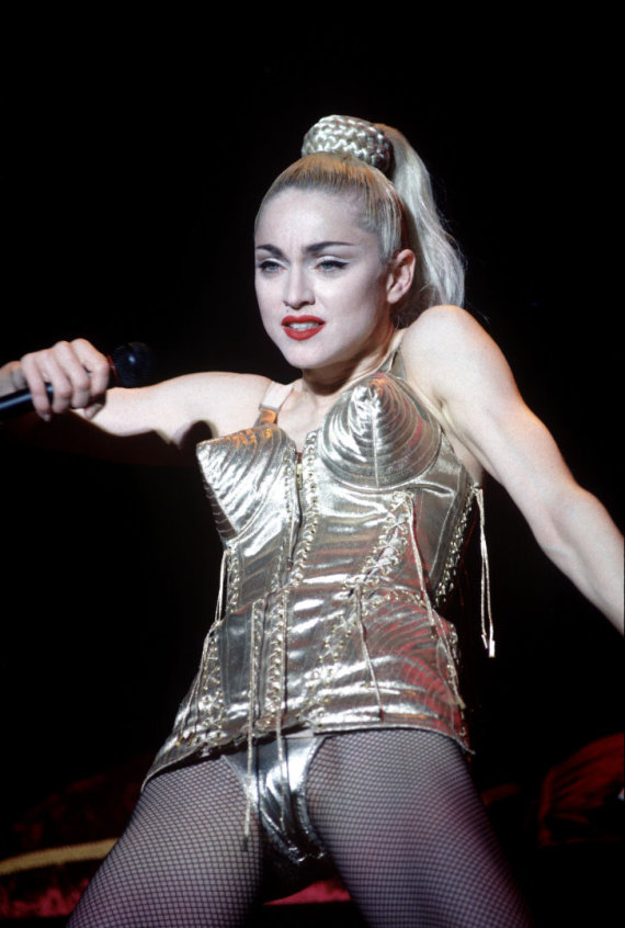 Vida Press nuotr./Madonna (1990 m.)