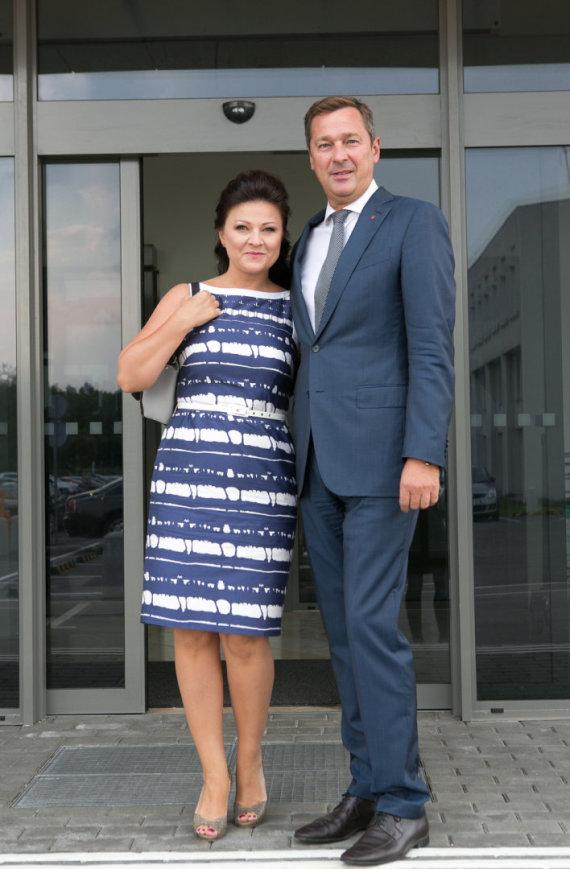 Gretos Skaraitienės/Žmonės.lt nuotr./Agnė ir Artūras Zuokai