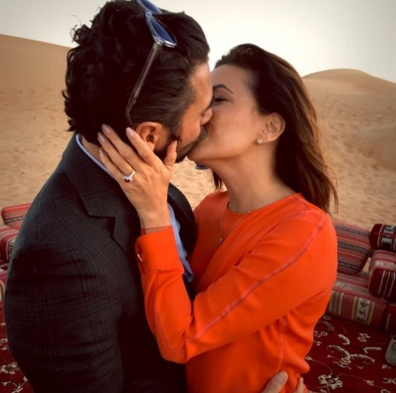 """""""Instagram"""" nuotr./Eva Longoria ir Jose Antonio Bastonas"""