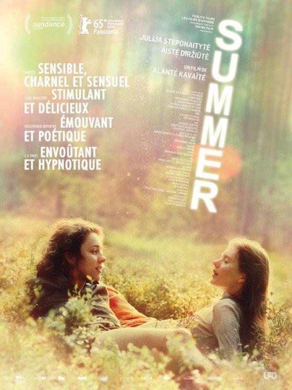 """ACME Film nuotr./Filmo """"Sangailės vasara"""" prancūziškas plakatas"""