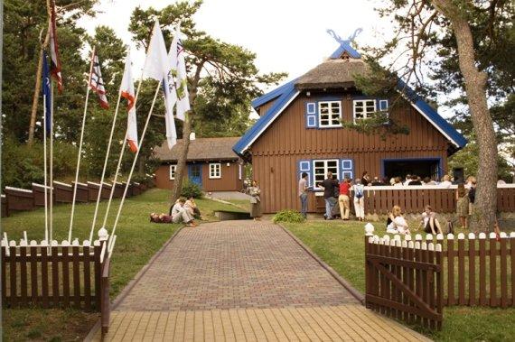 Organizatorių nuotr./Thomo Manno namelis Nidoje