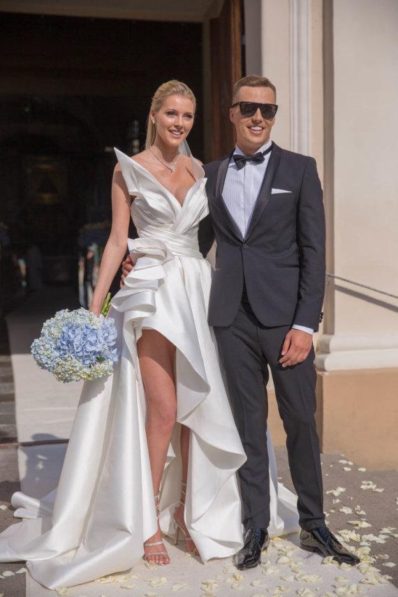 Josvydo Elinsko / 15min nuotr./Deimantės Guobytės ir Luko Baranausko vestuvės