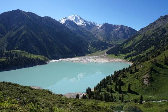 Kristinos Stalnionytės nuotr./Didysis Almatos ežeros