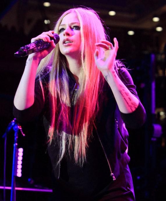 """Scanpix""/AP nuotr./Avril Lavigne"