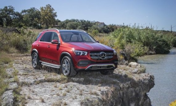 """Daimler Benz nuotr./ """"Mercedes-Benz GLE"""""""