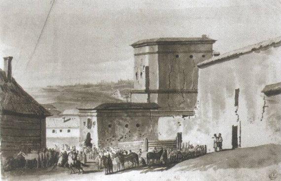 LDK valdovai į sostinę Vilnių atvykdavo pro Rūdninkų vartus