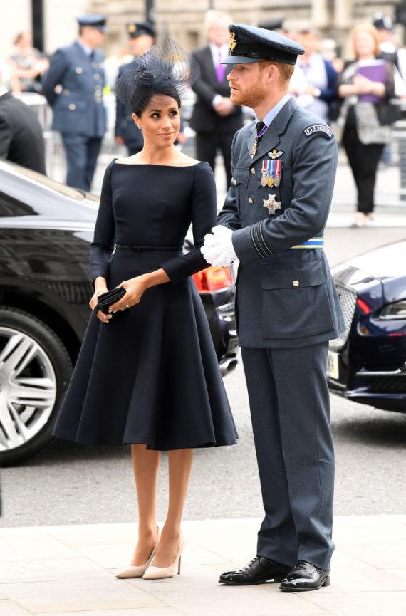 """Scanpix""/""PA Wire""/""Press Association Images"" nuotr./Sasekso hercogienė Meghan ir princas Harry"