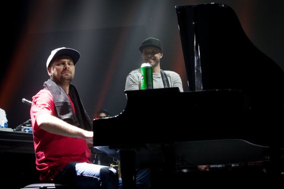 "Vidmanto Balkūno / 15min nuotr./""G&G Sindikato"" koncertas Vilniuje"