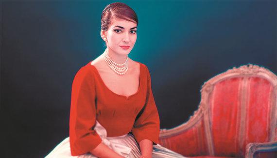 """Kadras iš filmo """"Maria Callas: savais žodžiais"""""""